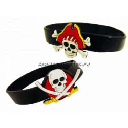 "BRACELET SILICONE ""PIRATE"""