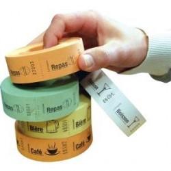ROULEAU DE 500 TICKETS (Repas/Boisson/Bière/Café)