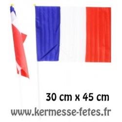 FRANCE : DRAPEAU 30 x 45 cm
