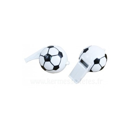 SIFFLET BALLON FOOTBALL GM Ø 6 cm