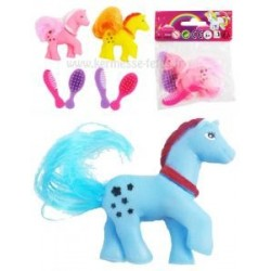 MINI PONEY A COIFFER 6.5cm