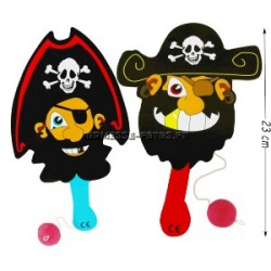 RAQUETTE TAPE BALLE BOIS 23 CM PIRATE