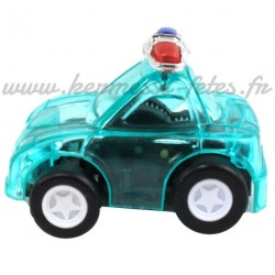 VOITURE POLICE 4.5cm SUPER BOMBE - RETRO-FRICTION