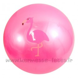 BALLON FLAMAND ROSE Ø 20 cm