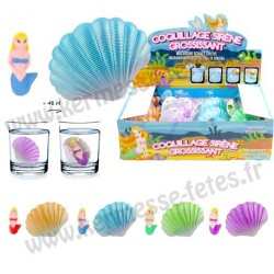 OEUF COQUILLAGE SIRENE GROSSISSANTE