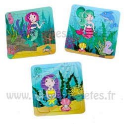 PUZZLE SIRENE 16 Pièces
