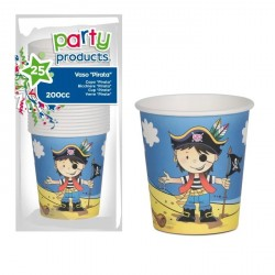 GOBELET CARTON 20cl PIRATE