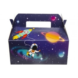 "BOITE CARTON LUNCH BOX GM "" SPACE """