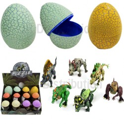 OEUF GM + DINOSAURE A MONTER 8/9 pièces