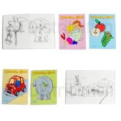 CARNET DE COLORIAGE 9 x 6 cm - 16 pages