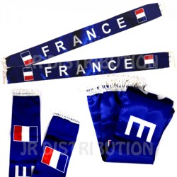 "ECHARPE SATIN SUPPORTER "" FRANCE """