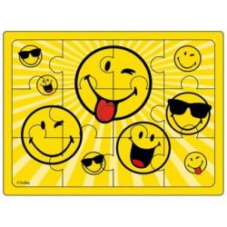 PUZZLE CARTON SMILEY® 12 pièces 12x8.5cm