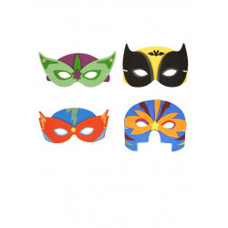 "MASQUE SOUPLE "" SUPER HERO """
