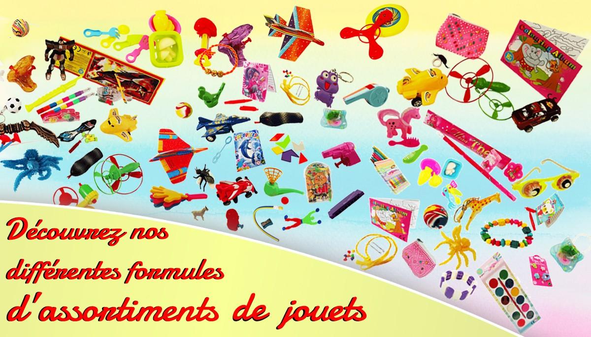 Assortiments de jouets