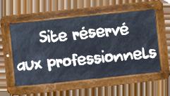 Site pour les professionnels